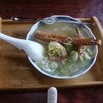 15557681 - 毛ガニ味噌汁