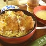 三軒屋 - 料理写真:カツ丼(^^)