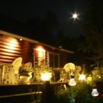 マハロカフェ リストランテ - 満月の夜はデッキがひときわロマンティックです