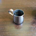CAZAN 珈琲店 - 黒シロップ