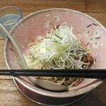 麺家かぐら - 料理写真:チーズまぜそば(数量限定)