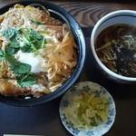 15559228 - カツ丼(一口そば付き) 1000円