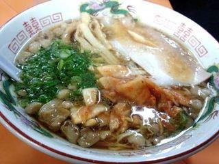 東珍康 - キムチラーメン