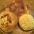 阪急ベーカリー - 料理写真:ぱりぱりチーズ、ポテリアン、「梅田阪急大食堂の」焼きカレーパン