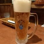 びっくりドンキー - ドリンク写真:オーガニックビール 505円