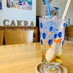 cafe cakra - ドリンク写真: