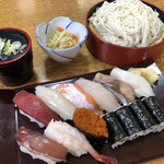 江戸前 丸福寿し - 料理写真:
