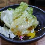 きりん珈琲 - セットのサラダ
