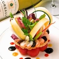 ラ・シャンス - 見た目にも艶やかな有機野菜のタルト