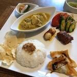 api - 料理写真:ナシチャンプル