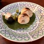 豆水楼 - 鯖寿司