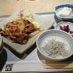 魚金醸造 - スタミナ生姜焼定食