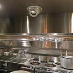 ロッツォシチリア - ピッカピカの厨房、気持ち良いですね。