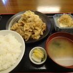 大むら - 生姜焼き定食