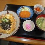 ほどほど - 料理写真:親子丼・ランチセット