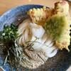 うどん処 ごえん - 料理写真:鯛のちくわ天のぶっかけうどん ¥880