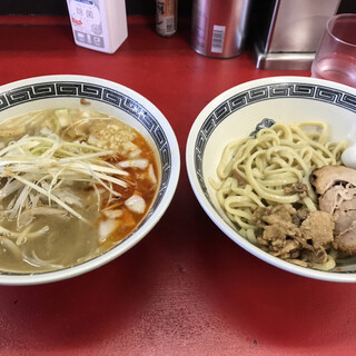 豚男 -BUTAMEN- - 料理写真:沖塩つけ麺(小)