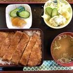 釜平 - 「ソースカツ重定食」@1200