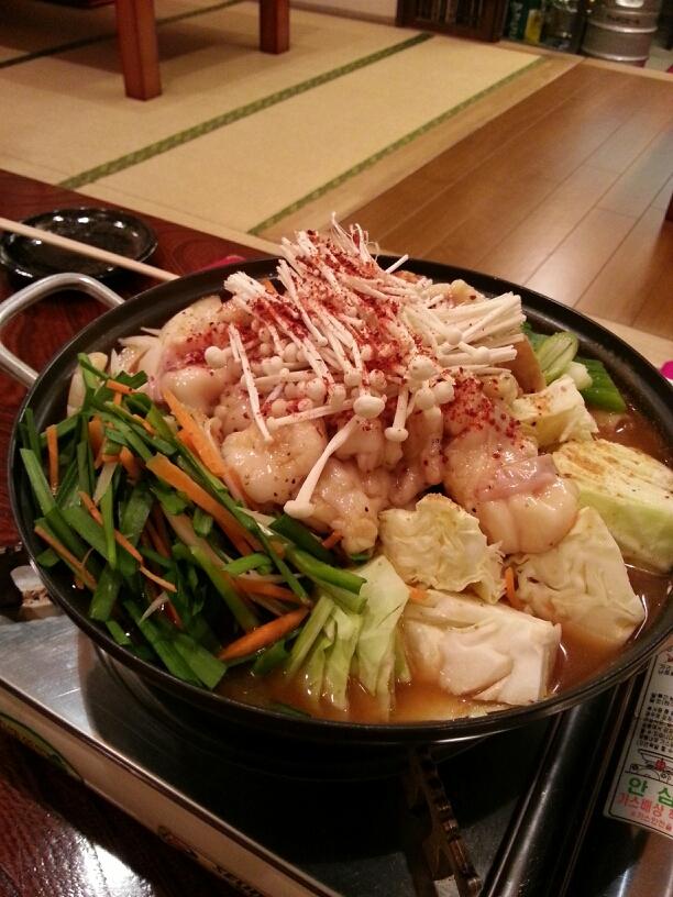 韓国家庭料理 青唐辛子