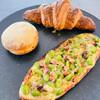 コッコパン - 料理写真:枝豆とチーズ、きなこあげパン、クロワッサン