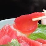 お食事処 魚がしおき - まぐろ赤身