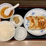 155646494 - 餃子定食(3個) ¥730