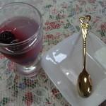 虹色キッチン - デザート ブルーベリーの寒天