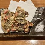 味峯 - もずくの天ぷら