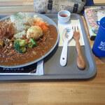155656974 - スパイスカレー お野菜が多めで玄米ご飯ミャ