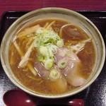 15566897 - 正油ラーメン・ふつう(600円)