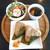 天むす亭 - 料理写真:天むすプレート