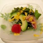 鉄板焼 誉 - サラダ