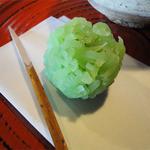 さかい家 - 抹茶と和菓子(682円)和菓子