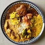 スパイスカレー モクロミ - 料理写真:mokuromi×sho curry