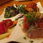 キッチンスズヤ - 【再訪2】鮮魚のカルパッチョ