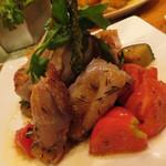 キッチンスズヤ - 【再訪2】鶏肉料理(名前は失念。。。)