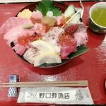ニダイメ 野口鮮魚店 - うまい丼DX 2178円