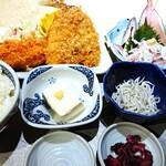 魚金醸造 - 今が旬の鯵御膳!