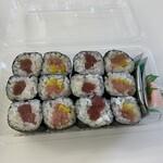 いなせ寿司 - 料理写真:鉄火とトロタク