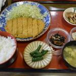 食事処 奴 - 料理写真:とんかつ定食