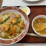 八乙女 - 料理写真:海老中華飯 ¥800円