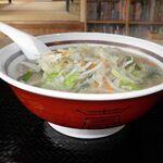 ひより屋 - 料理写真:タンメン 800円
