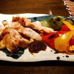 酒肆 門 - 大山地鶏