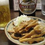 麺屋はやしまる - つまみのメンマ(150円)
