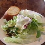 RITROVO - ランチの前菜サラダ