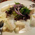 蒔e莉 - チーズ三種盛り