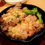 蒔e莉 - 長州鶏のチーズステーキ~800円