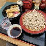 小諸そば - 料理写真:穴子天丼セット