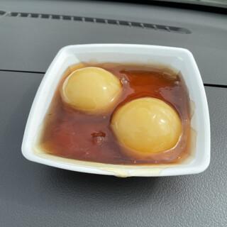 餅処 深瀬 - 料理写真:栗だんご2個入