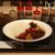 マイカリー食堂 - 料理写真:煮込み牛すじカレー(激辛・揚げ茄子&トマト煮込みトッピング)